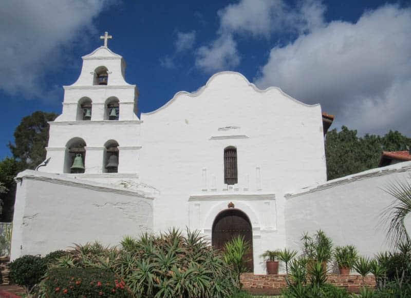 Mission San Diego de Alcala in san Diego, California