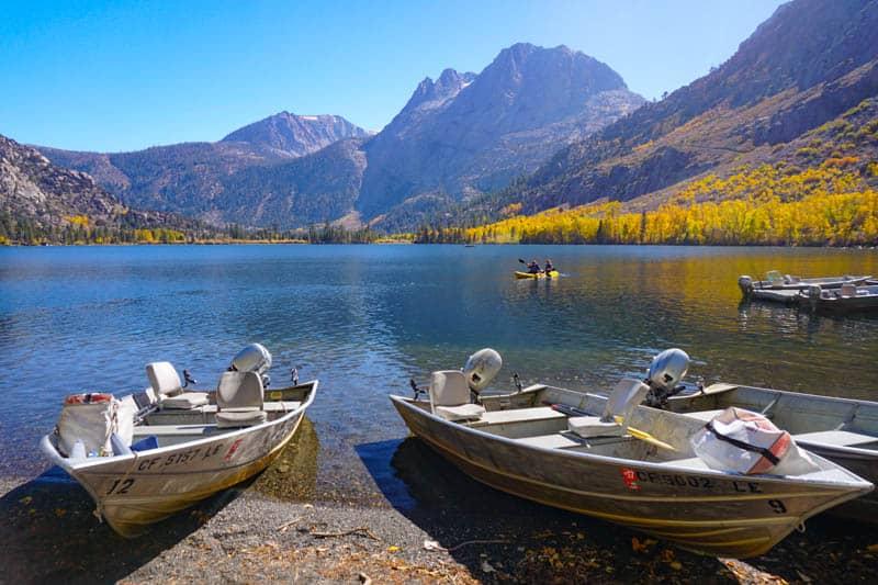 Silver Lake in the Eastern Sierra of California