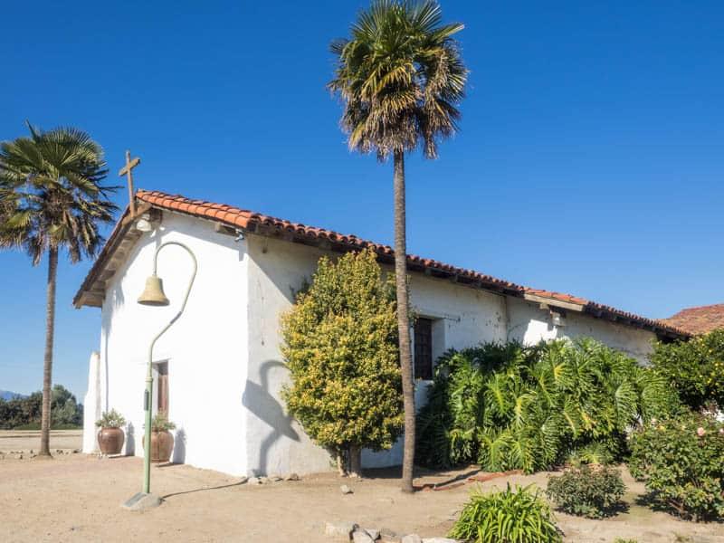 The Soledad Mission in California