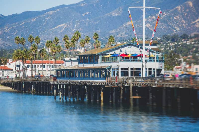 Stearns Wharf in Santa Barbara California