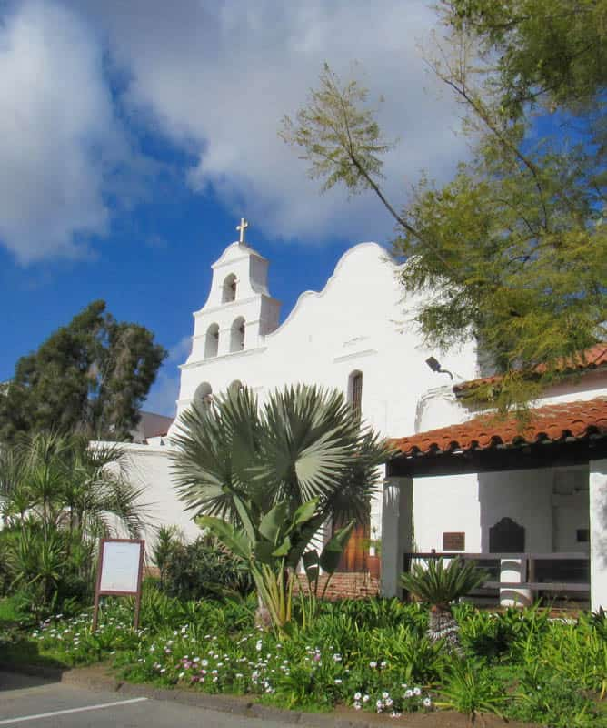 San Diego Mission is the first of California's 21 Spanish Missions.