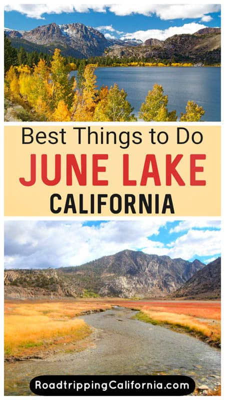 Discover the best things to do in June Lake, California, from boating and swimming to hiking and birdwatching! June Lake is a must-visit in the Eastern Sierra of California.