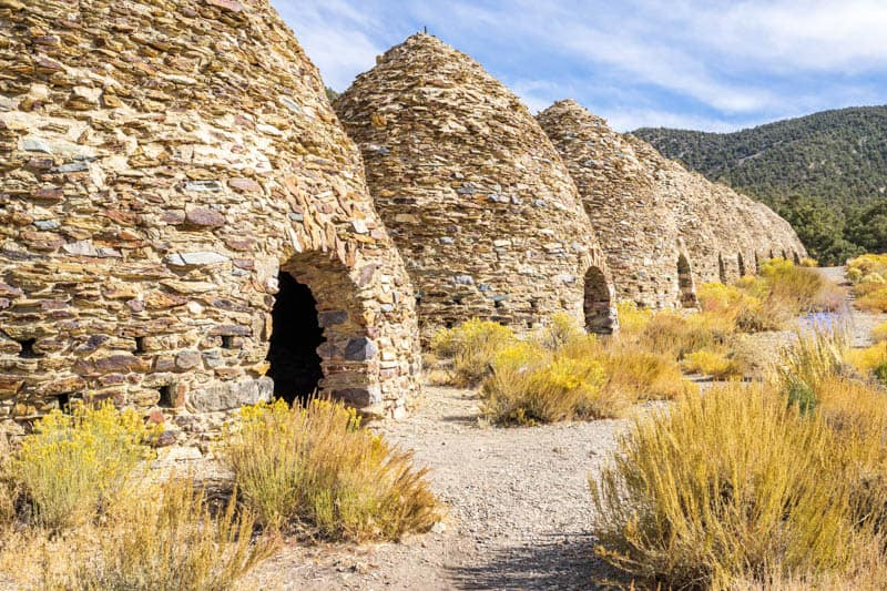 Wildrose Charcoal Kilns in Death Valley National Park, California