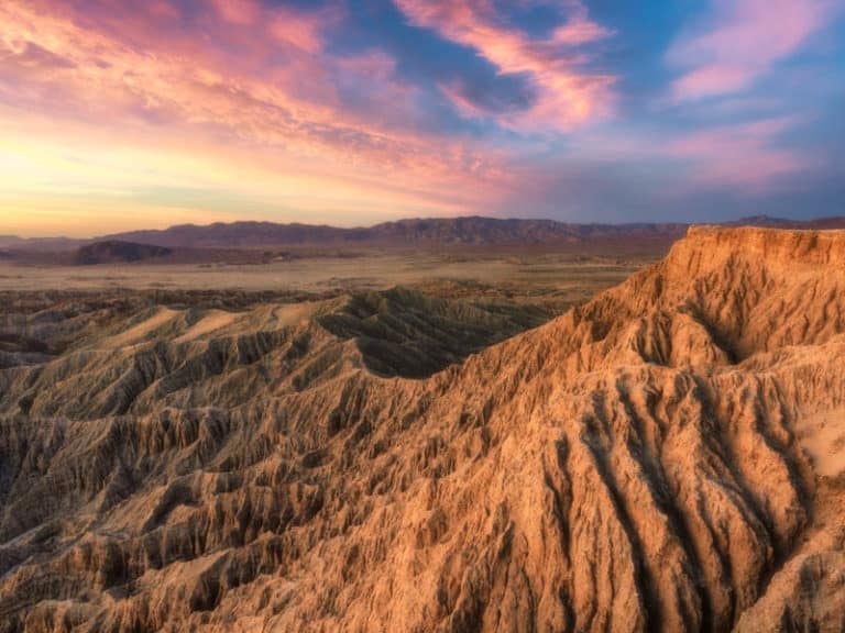 Anza-Borrego Desert State Park in Southern California