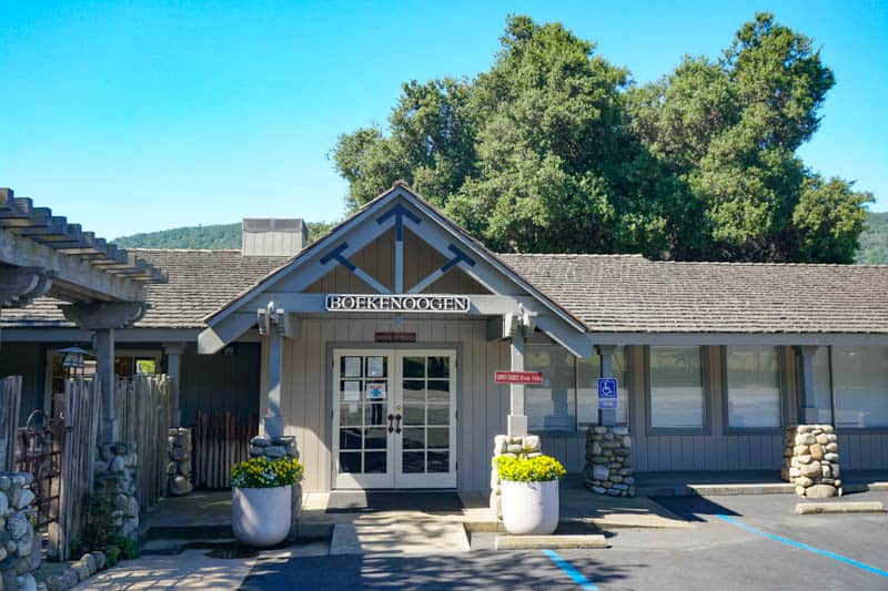 Boekenoogan Tasting Room in Carmel Valley, California