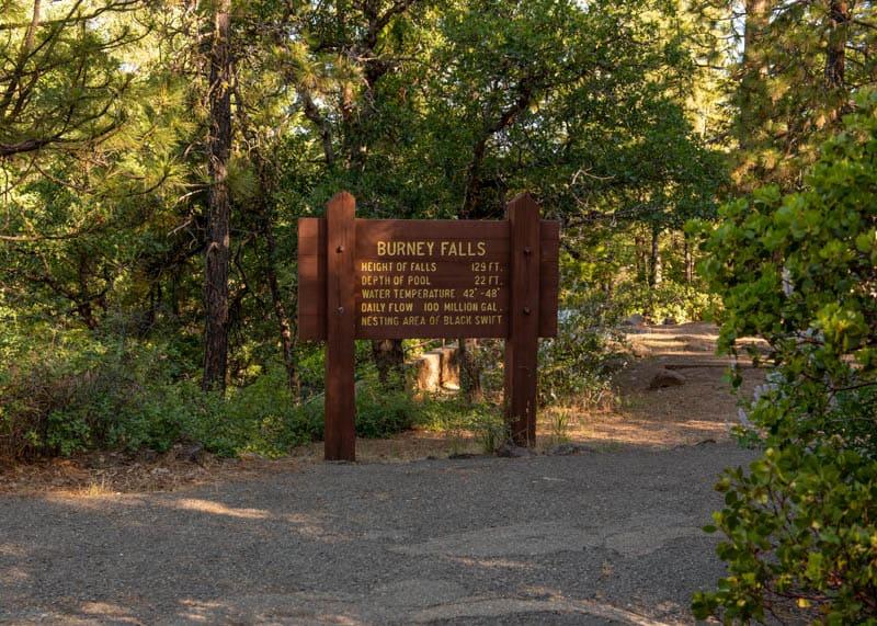Hiking to Burney Falls in California