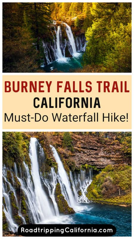 Discover the easy to moderate Burney Falls Hike in northeastern California! Plus tips for hiking the loop and viewing beautiful Burney Falls.