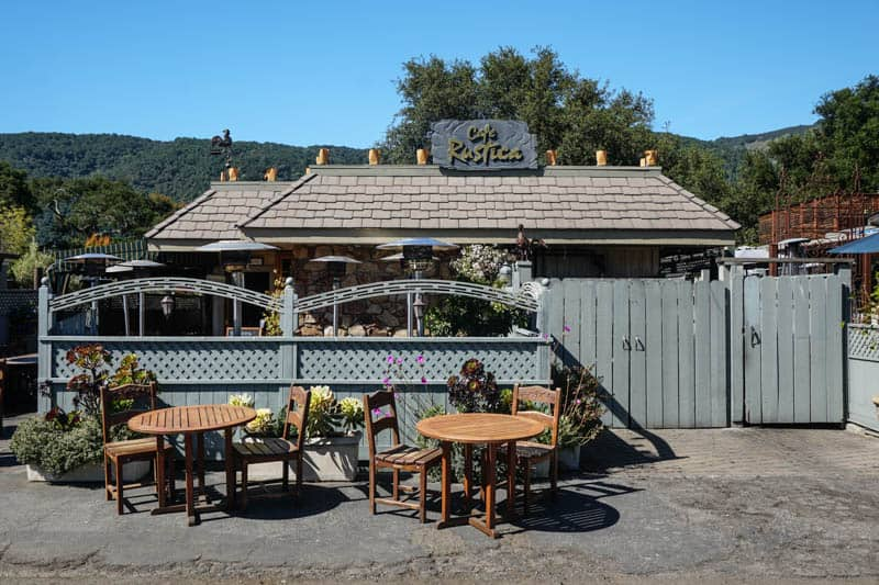 Cafe Rustica in Carmel Valley California