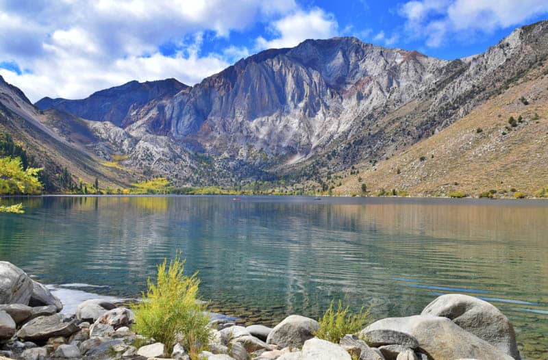 Convict Lake Mammoth Lakes California