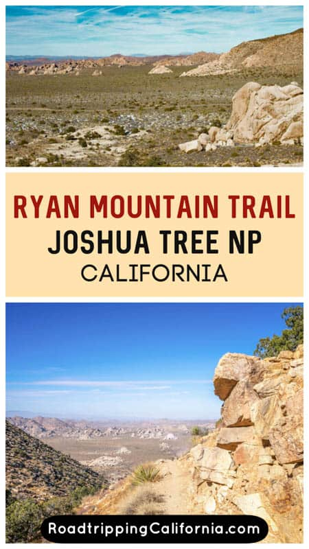 Discover what to expect on the Ryan Mountain hike in Joshua Tree National Park in Southern California. Plus our tips for hiking this challenging trail!