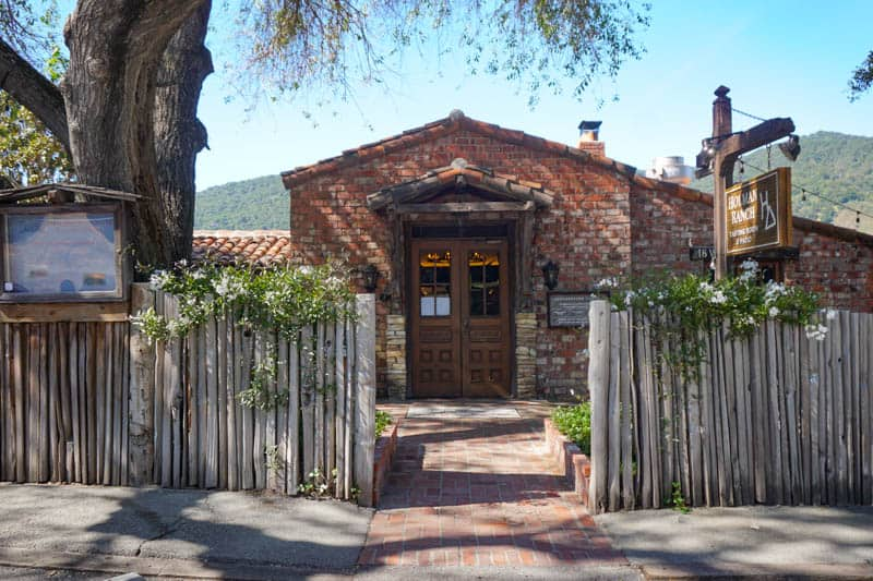 Holman Ranch Tasting Room in Carmel Valley Village in California