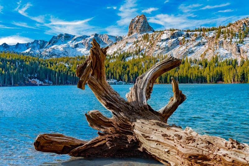 Lake George in Mammoth Lakes California