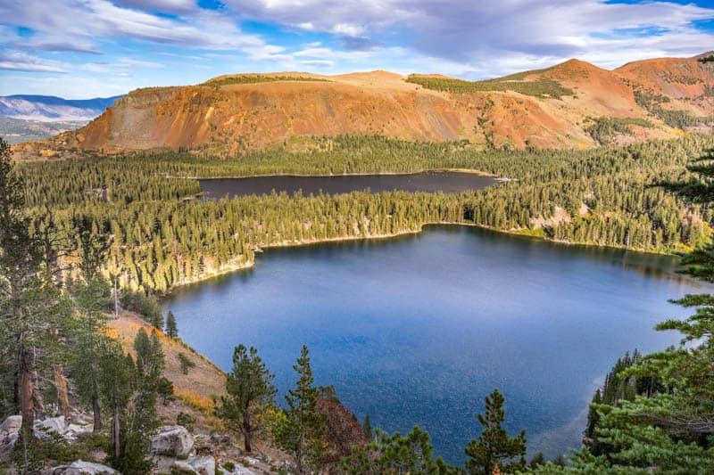 Mammoth Lakes in the Eastern Sierra of California