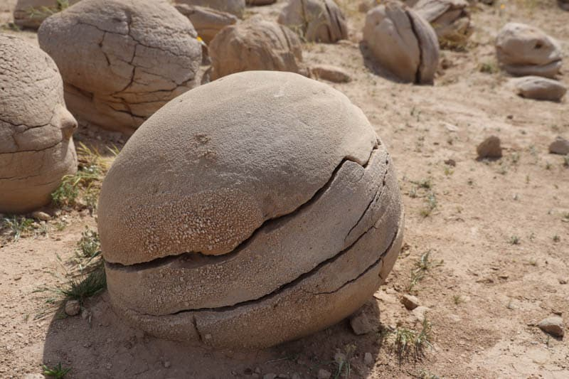 Boulders at the Pumpkin Patch in Ocotillo Wells, California
