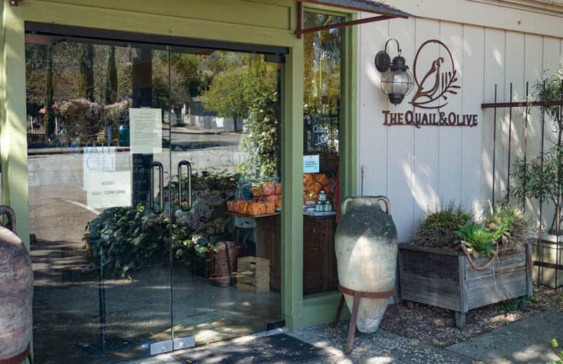 The Quail & Olive in Carmel Valley California