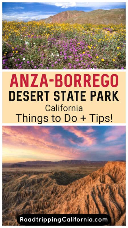 Discover the best things to do in Anza-Borrego Desert State Park in Borrego Springs in Southern California! Plus tips for visiting.