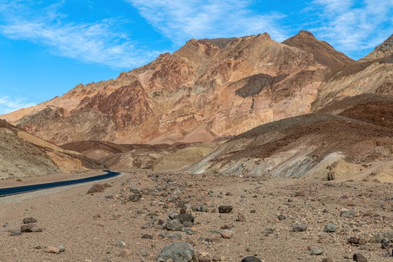 Artist's Drive in Death Valley is a beautiful SoCal drive.