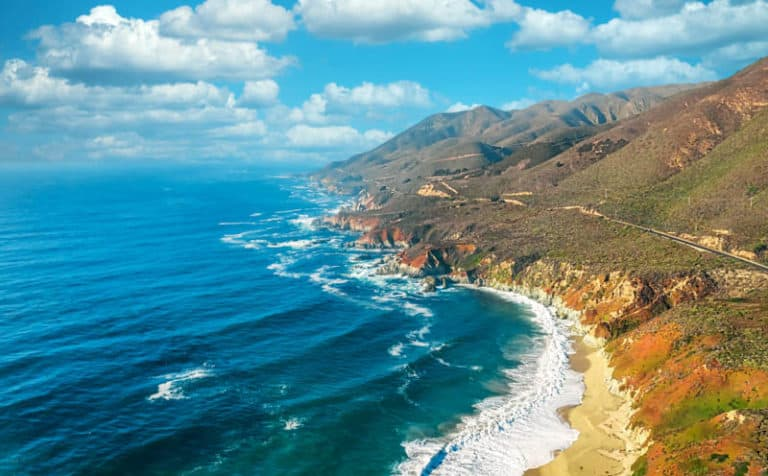 Big Sur in one of California's most scenic drives