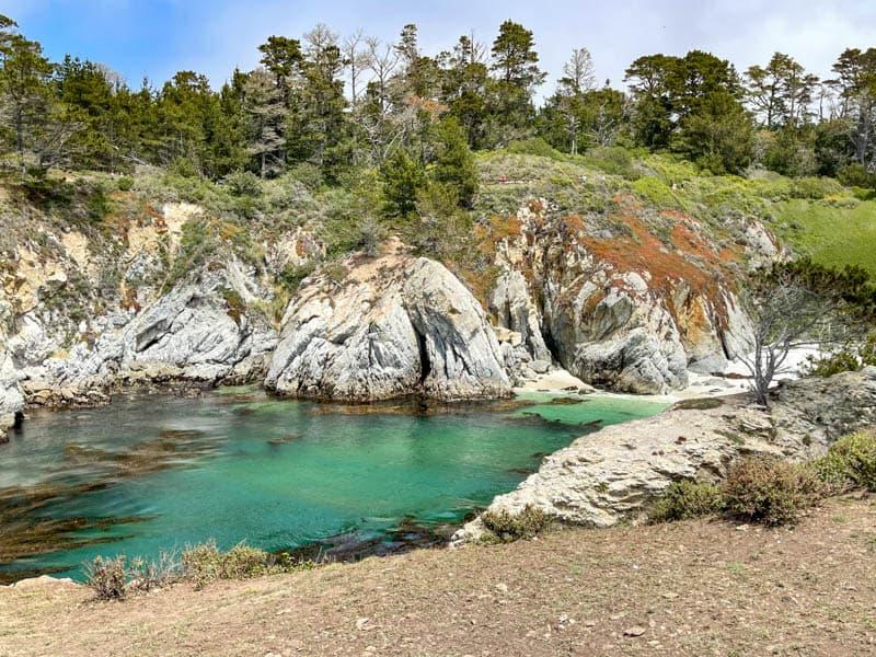 Bird Island Trail in Point Lobos State Reserve California