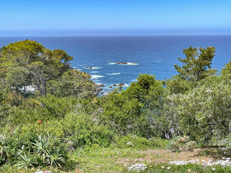 Carmel Highlands in Central California makes for a relaxing getaway