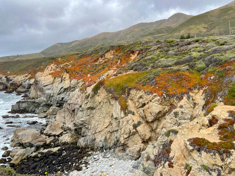 Cliffs of Big Sur at Soberanes Point in Garrapata State Park: Bluff Trail