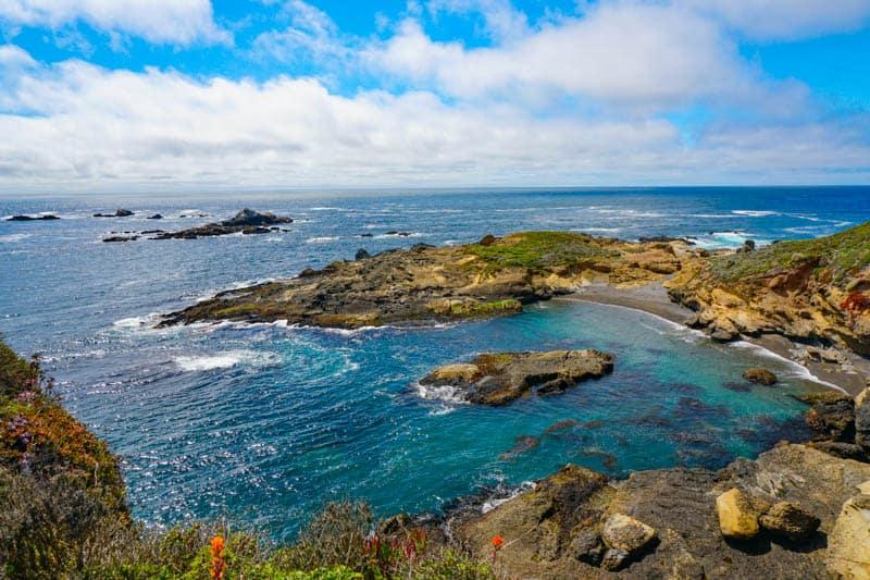 Headland Cove on the Sea Lion Point Trail in Point Lobos, Carmel, CA