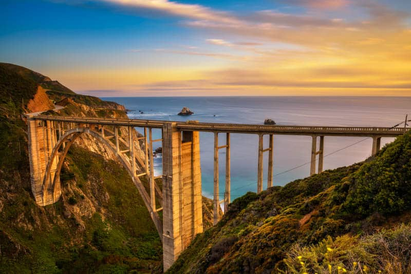 Highway One in Big Sur is a spectacularly scenic drive.