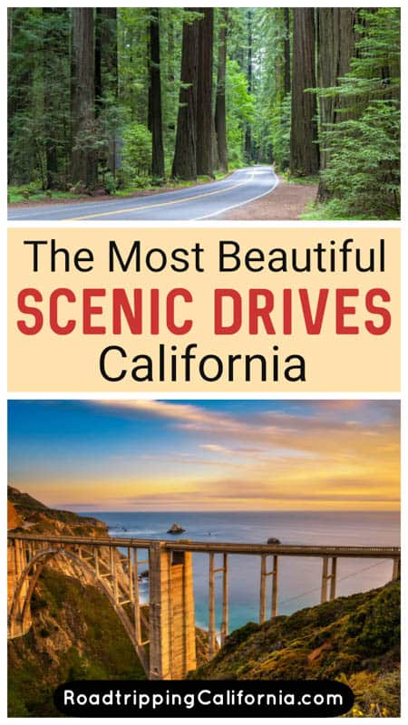 Discover the most breathtaking scenic drives in California, from the Pacific Coast Highway to Highway 395: drives through redwood forests, the Sierra Nevada mountains, the California deserts and the beautiful coast.