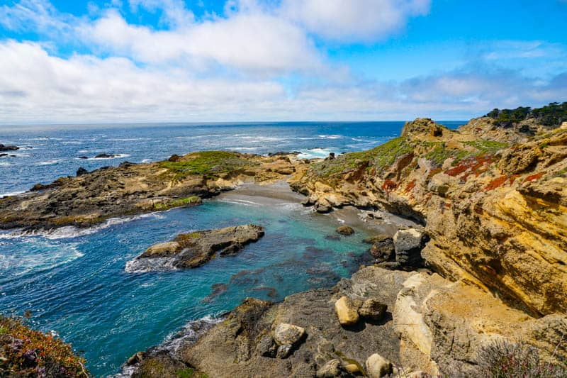 Sea Lion Point Trail in Point Lobos State Reserve, California