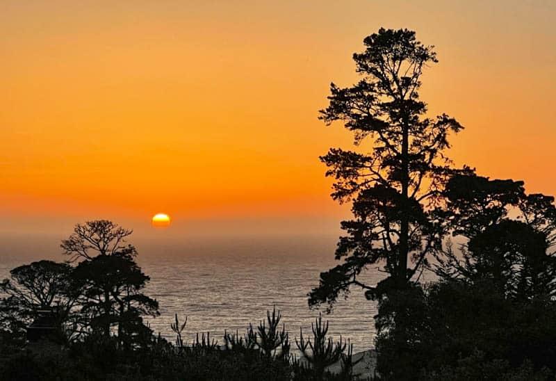Sunset Carmel Highlands  California