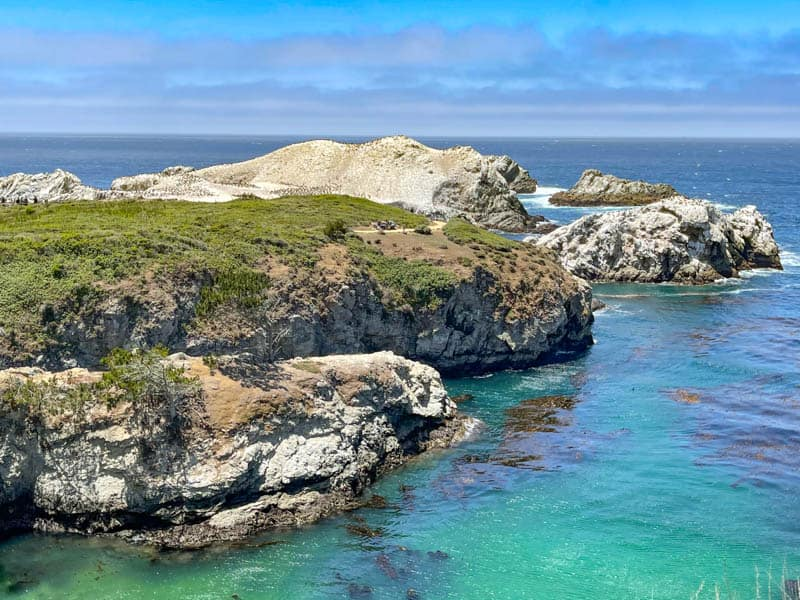 View from Bird Island Trail in Point Lobos State Reserve, at the north end of the Big Sur Coast in California