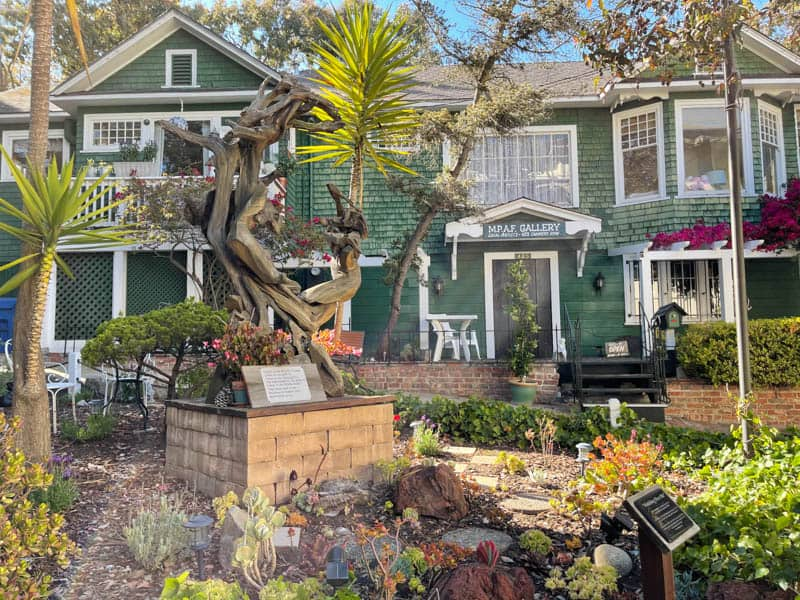 Art gallery along Cannery Row in Monterey California