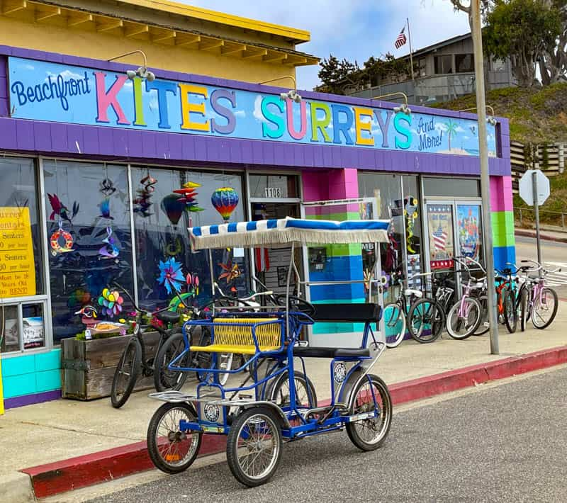 Beachfront Kites Surreys and More in Morro Bay, California