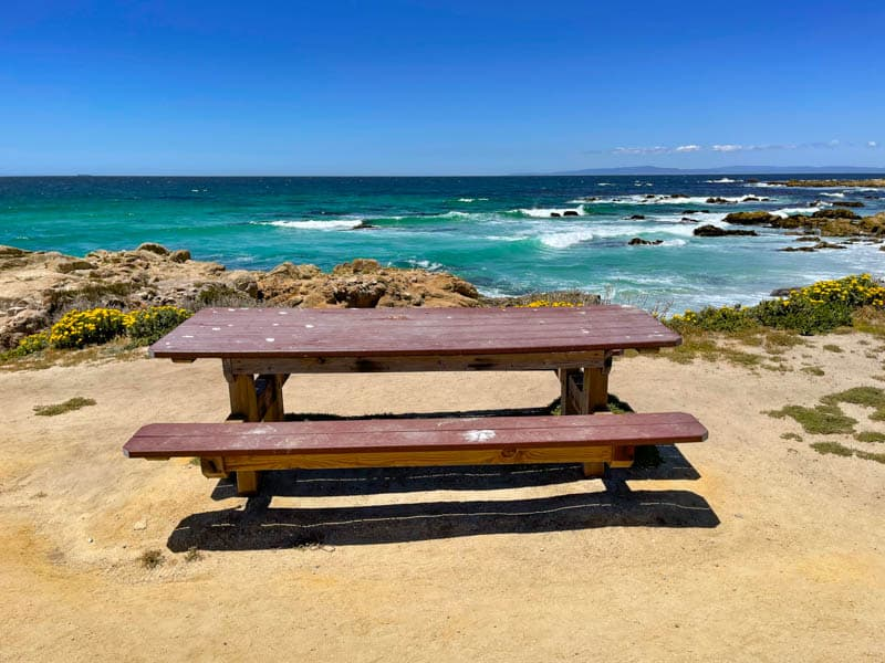 Have a picnic with a view along 17-Mile Drive in Pebble Beach California