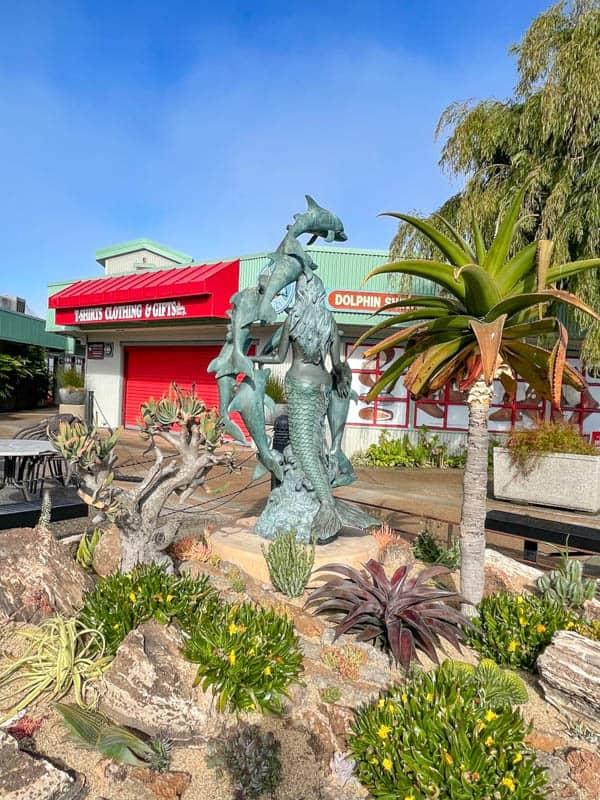 Strolling the Embarcadero in Morro Bay, California