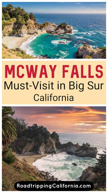 Discover how to visit beautiful McWay Falls in Big Sur, California. The waterfall is one of the most photographed sights in California!