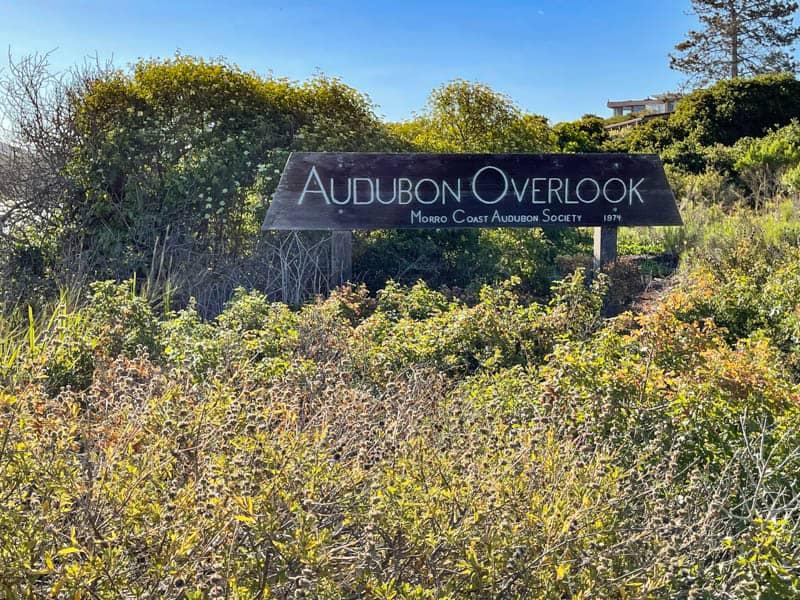 The Audobon Overlook in Los Osos, California