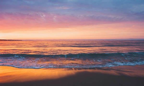 Central California Coast sunset