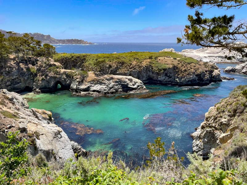 China Cove in Point Lobos State Natural Reserve California