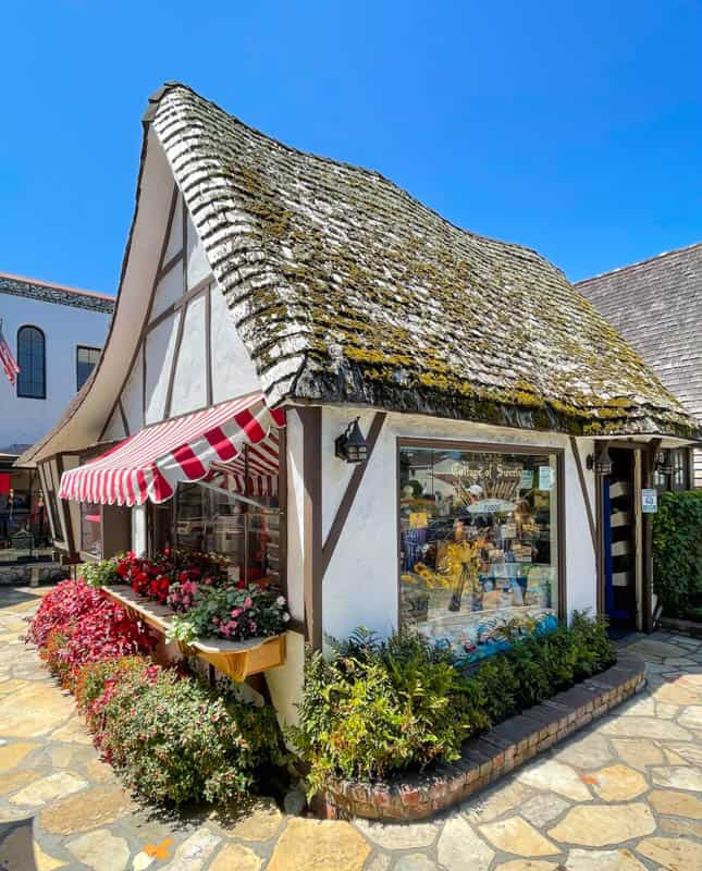 Getting sweet treats at the charming Cottage of Sweets is one of the best things to do in Carmel by the Sea, California