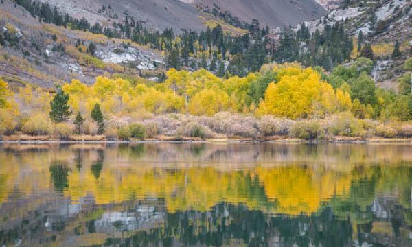 Hike to Parker Lake in June Lake, CA