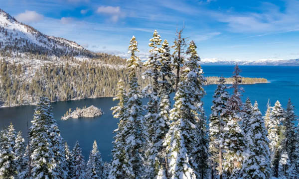 Lake Tahoe is one of the best lakes in California