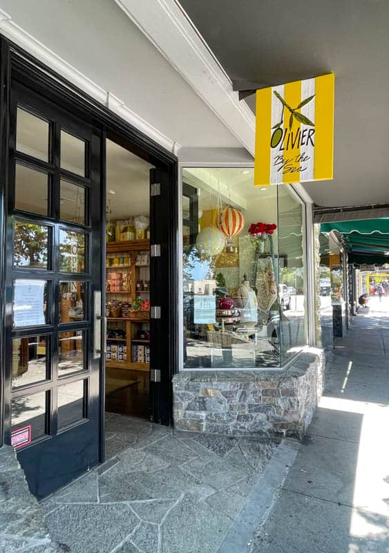 Olivier by the Sea in Carmel offers olive oil tastings