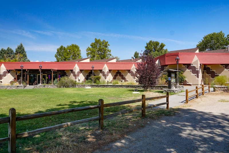 The Paiute Shoshone Cultural Center is a must visit in Bishop, CA!