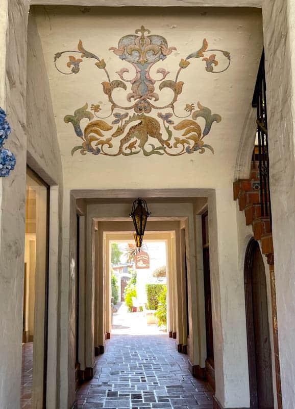 A pretty passageway in Carmel, California