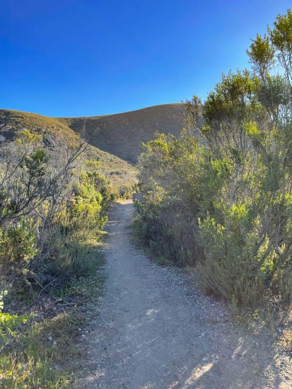 Hiking the Quarry Trail to Cerro Cabrillo in Central California