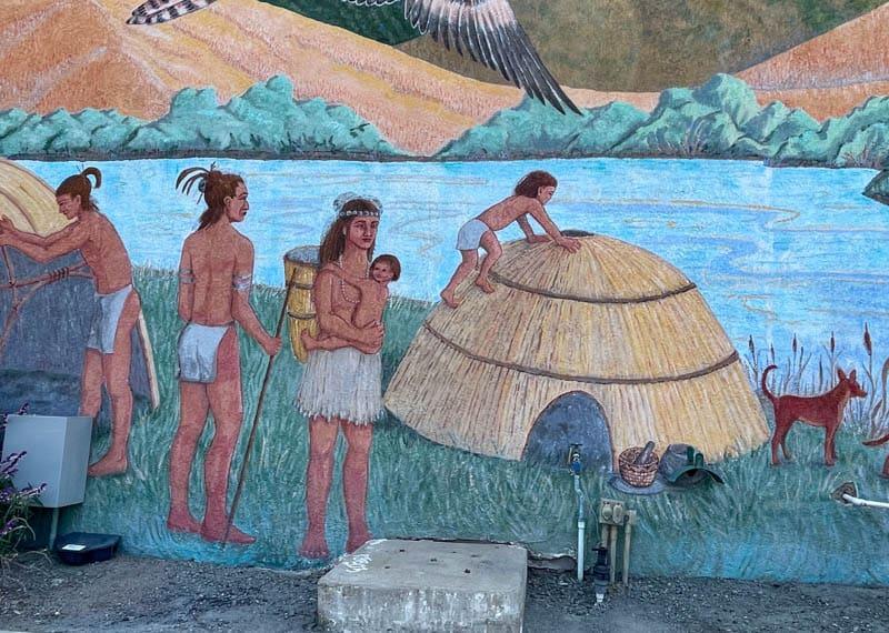 Mural in Los Osos California