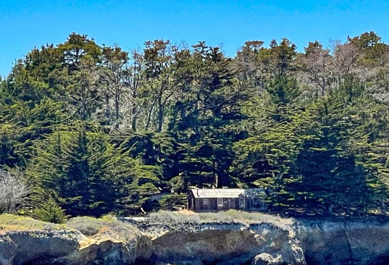 Whaler's Museum in Point Lobos State Natural Reserve in California