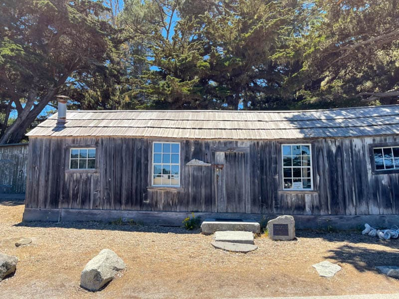 Whaling Station Museum in Point Lobos State Park in California