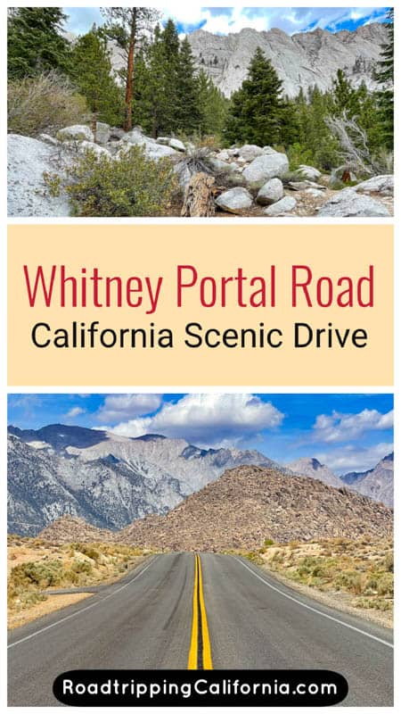 Discover what to expect when you drive the super scenic Whitney Portal Road in Lone Pine, California. Plus our tips for doing the drive!